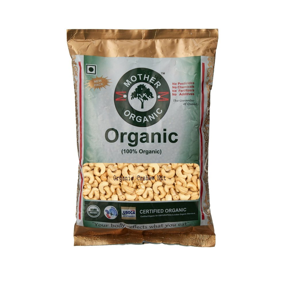 Mother Organic Cashew Nut, 500g