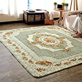 Pastoral Medallion French European Formal Traditional Runner Rug Stain / Fade Resistant Contemporary Floral Thick Soft Plush Hallway Entryway Living Dining Room Area Rug
