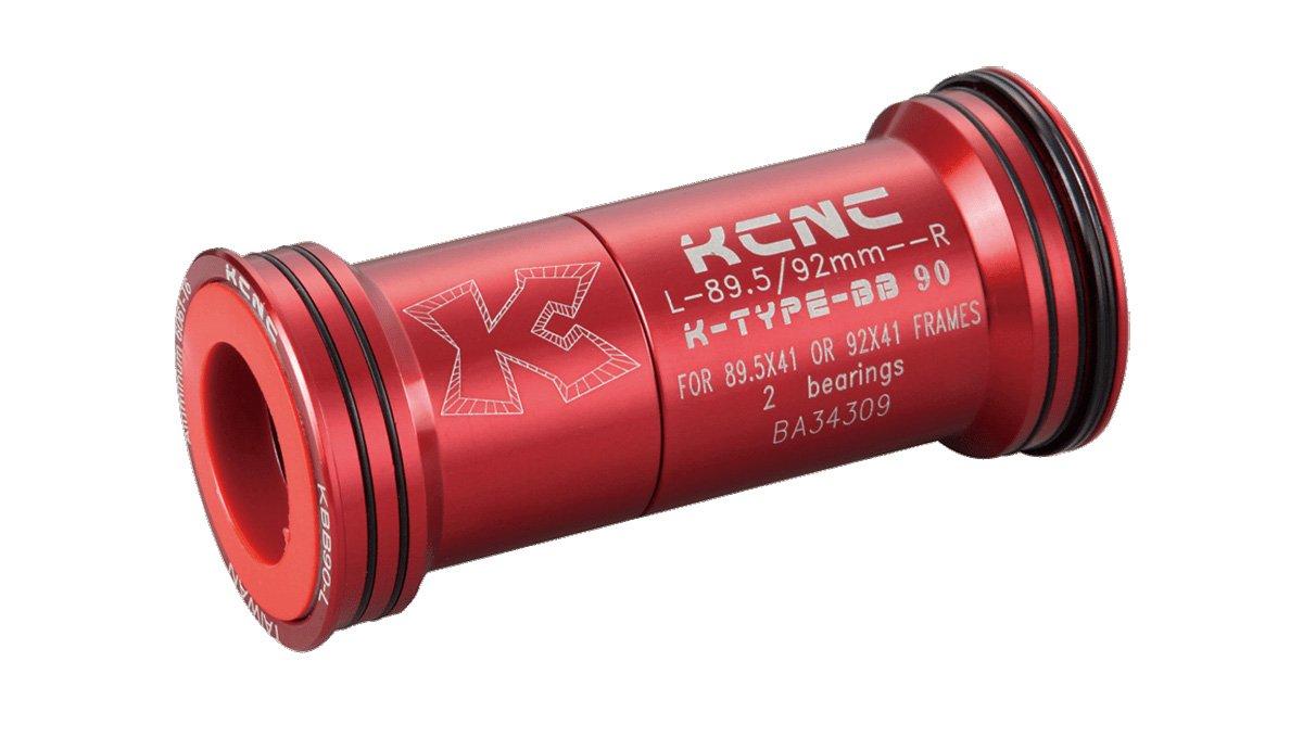 KCNC 自転車 軽量 ボトムブラケット BB BB86 アダプター Kタイプ/シマノヨウ B004DOW9US レッド レッド
