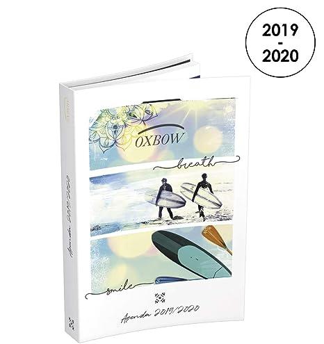Amazon.com: Oxbow 2019-2020 - Agenda diaria de agosto a ...