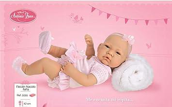 Amazon.es: Muñecas Antonio Juan - Muñeca recién Nacido niña, 42 cm ...