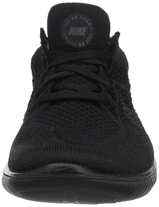 Nike Men S Free Rn Flyknit 2018 Running Shoes Black Anthracite 7 Us Amazon Com Au Fashion