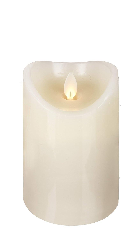 2.75x5 Ganz Home Decor Flameless LED Resin Pillar Candle