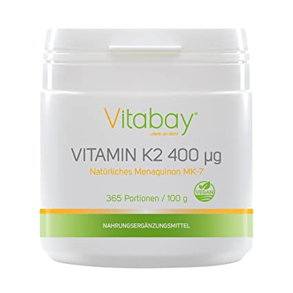 Polvo de vitamina K2 - Menaquinona MK7 400 ?g - 99,99% de