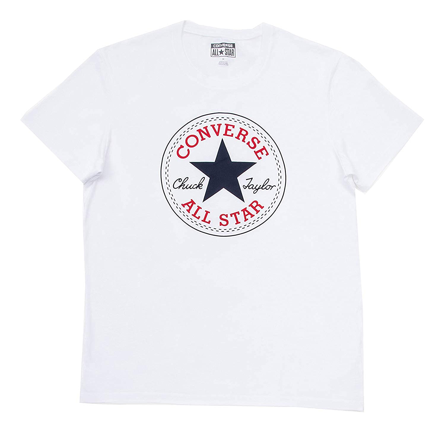cb7e1b73af7a Amazon.com  Converse Chuck Taylor All Star Men s Patch Logo T Shirt   Clothing