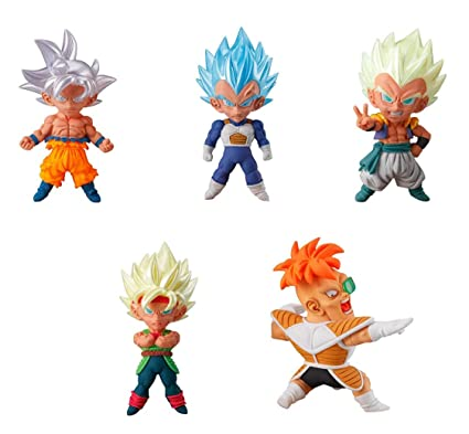 Amazon.com: Dragon Ball Super Gashapon UDM Burst 34 - Juego ...