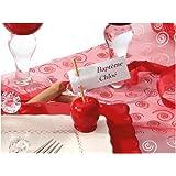 10 Porte-cartes pomme d'amour mariage