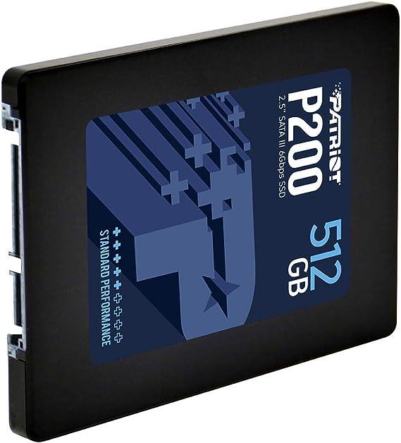 Patriot Memory P200 Ssd 512gb Sata Iii Internal Solid Computer Zubehör