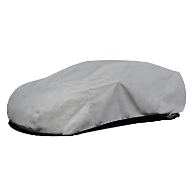 """Budge RB-3 Rain Barrier Car Cover Gray Size 3: Fits up to 16\' 8\"""" Outdoor,Breathable: Automotive [5Bkhe0406848]"""