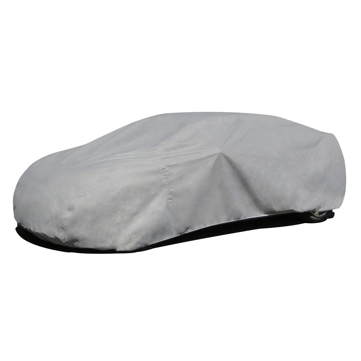Budge Duro Car Cover Fits Sedans up to 170 inches, D-2 - (Polypropylene, Gray)