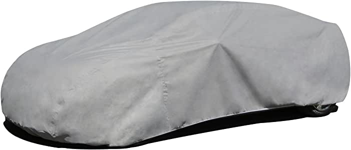 Budge Max Car Cover Fits Sedans up to 170 inches, GMX-2 - (Endura Plus, Gray)