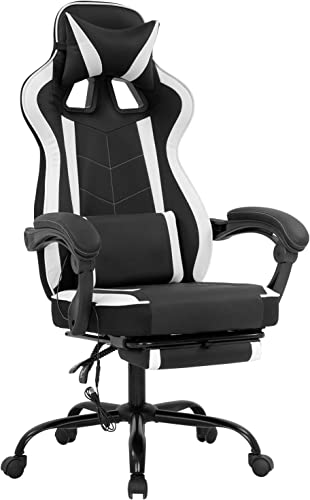 Best PC Gaming Chair Ergonomic Heavy Duty Racing Office Chair Video Game Chair