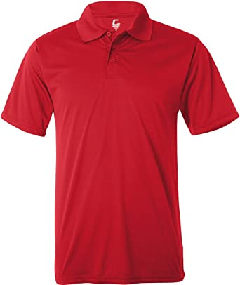 b6187fbfe C2 Sport 5300 Sport Adult Performance Polo at Amazon Men's Clothing store:  Polo Shirts