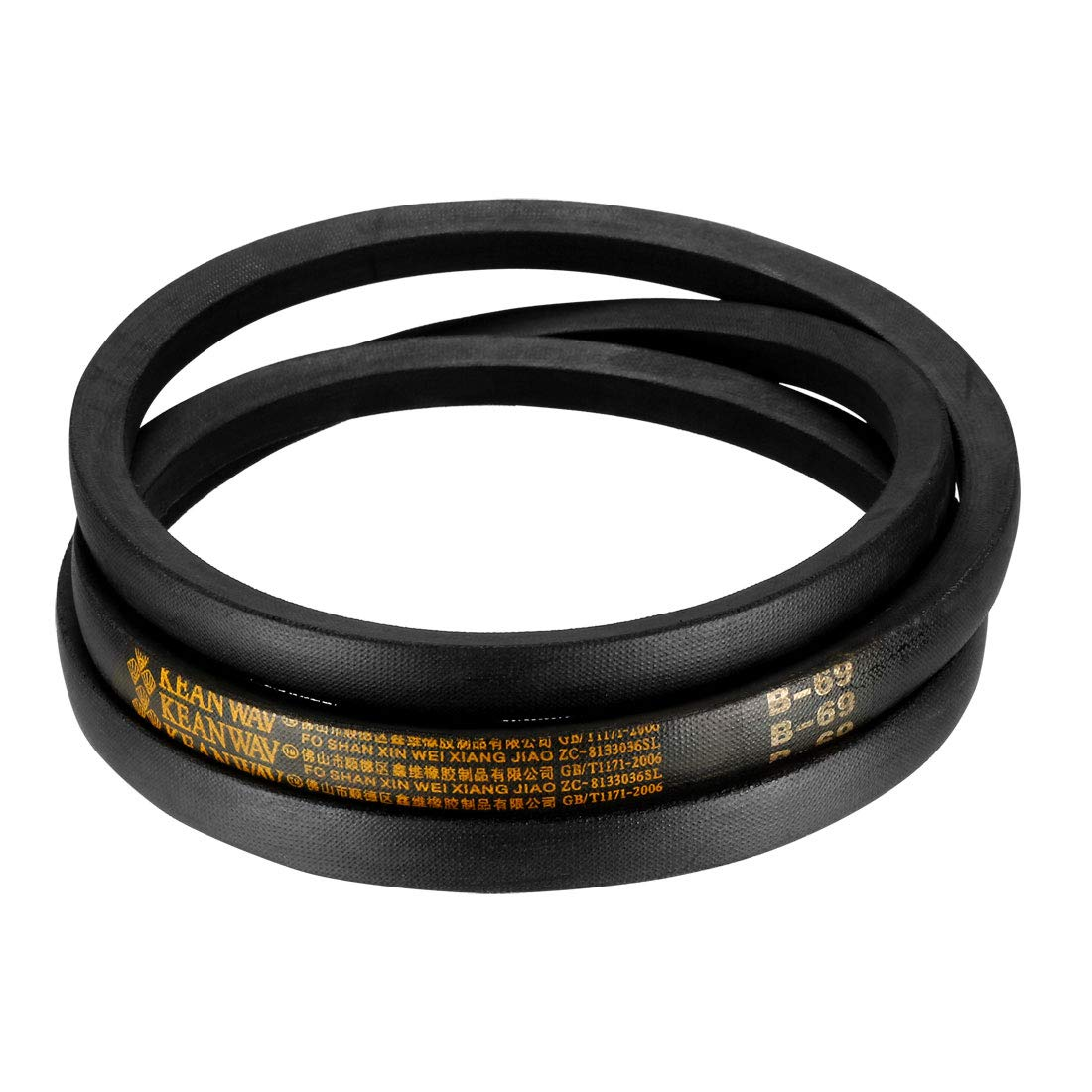 sourcing map B66 Drive V-Belt Girth 66-inch Industrial Power Rubber Transmission Belt
