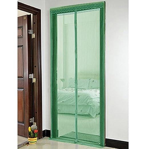 bluelans® Magnético Mosquitera para puerta mosquitera 90 x 210 cm ...