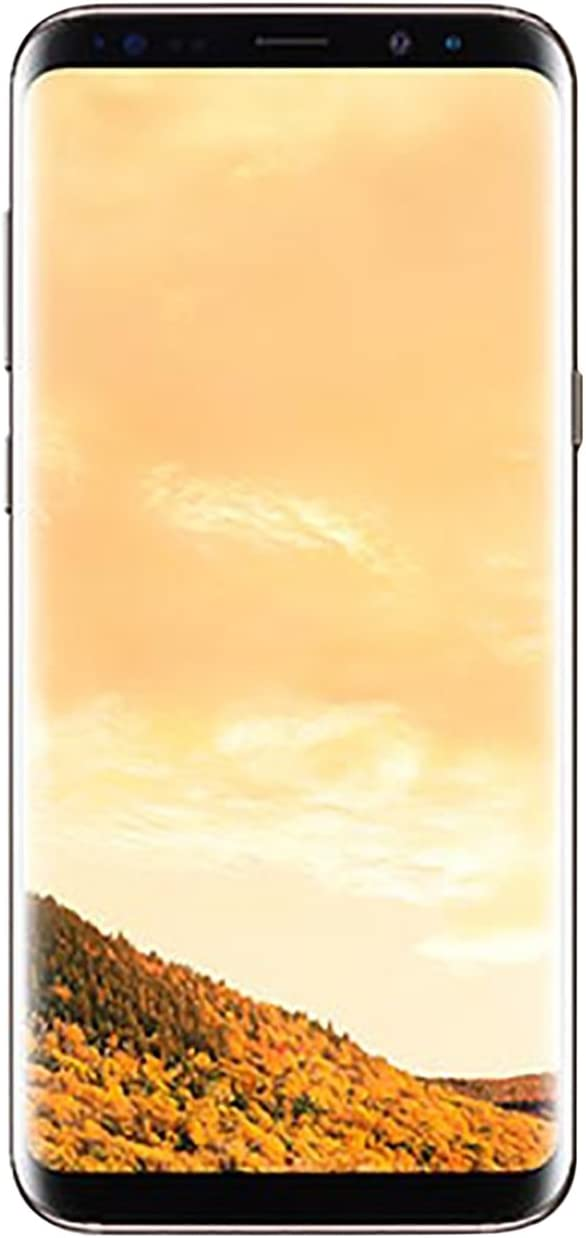 Samsung Galaxy S8, 64GB, Maple Gold - For GSM (Renewed)