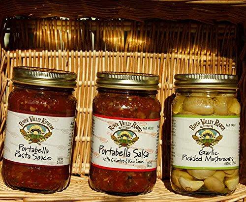 Mushroom Portabella Pasta (Mushroom Lover's Gift Assortment, 3 jar gift set)