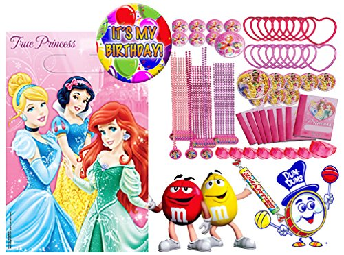 Disney Princess Sofia The First (8) Pre-Filled Toy & Candy Party Favor Goodie Bags! Plus Bonus
