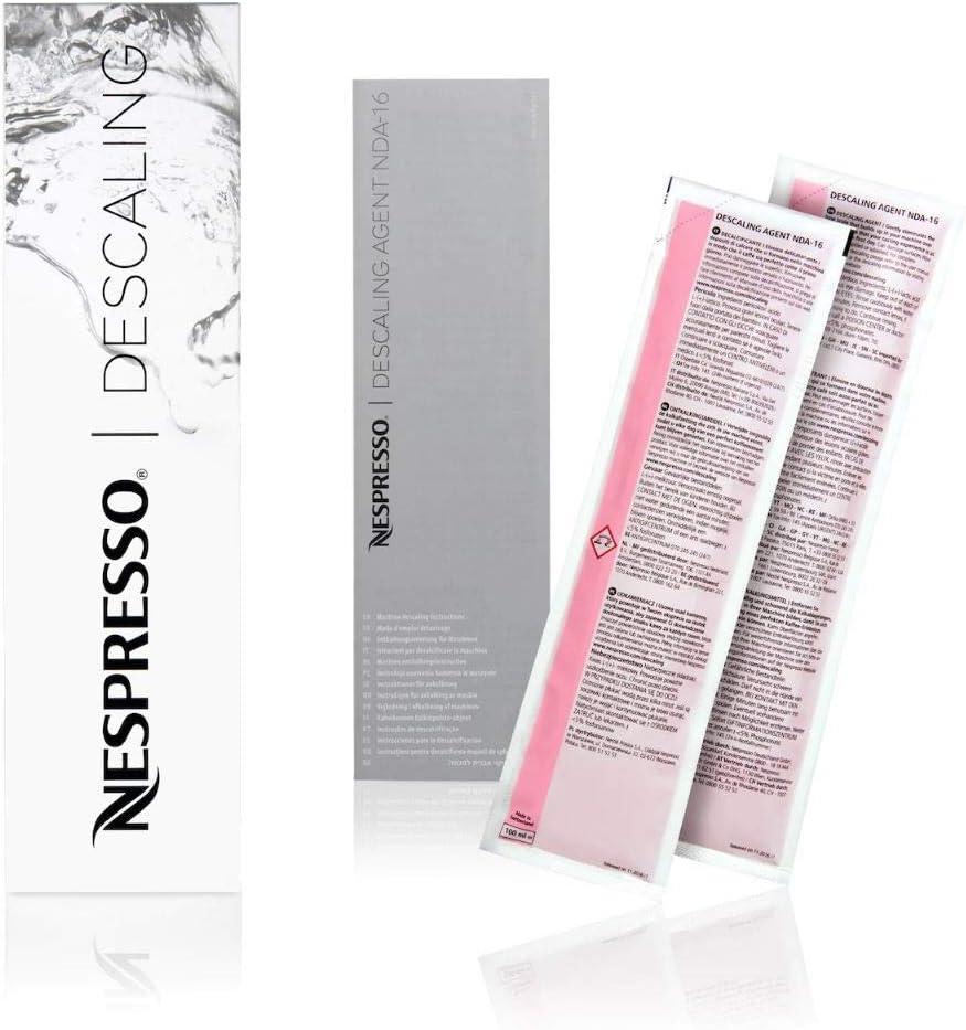 Nespresso machine Inissia descaling kit / Orginal Nespresso Descaling Kit