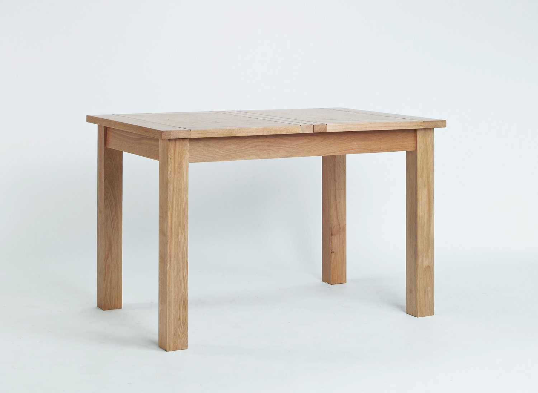 Nottingham Esstisch Eiche, klein, Ausziehbarer Tisch (1 Set)