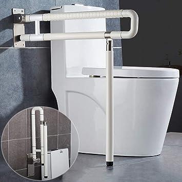 Amazon Com Meetwarm Handicap Rails Foldable Toilet Grab Bar Handles Bathroom Seat Support Bars Flip Up Grab Arm Hand Grips Safety Handrails For Elderly Disabled Pregnant Anti Slip Shower Assist Aid Home Improvement