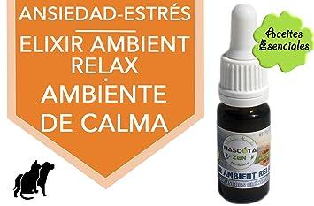 Elixir Ambient Relax para difusores eléctricos Gatos y Perros 10 ml: Amazon.es: Productos para mascotas