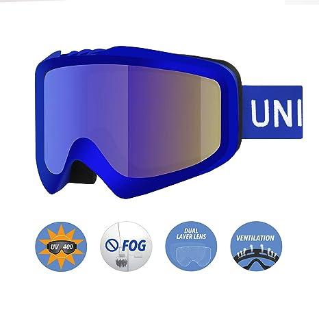 a531ffd5eed9 Amazon.com   Unigear Skido X1 Ski Goggles