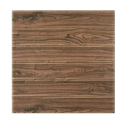 3d Wood Effect Wallpaper Wood Wall Stickers Self Adhesive Pe Foam