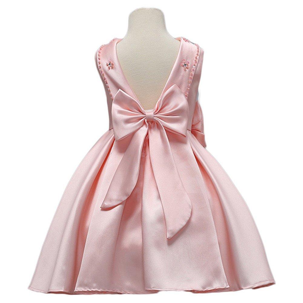 WeeH - o Vestido WeeH de Rosado fiesta para niña o niña, diseño de ...