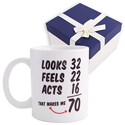 1948 70th Birthday Gifts Ideas For Men And Women Novelty Ceramic Coffee Mugs Anniversary Gift Idea