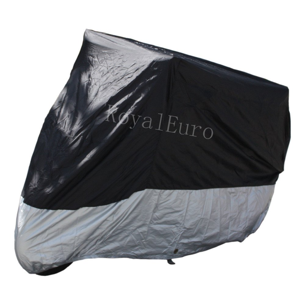 Motorcycle Cover Bicycle Bike Outdoor water proof motorbike protector (Motorcycle cover 215*89*119cm--ZM1BS) RM