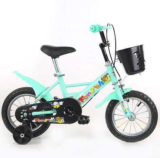 GAIQIN Durable Bicicleta para niños Bicicleta 2-4-5-7-8-10 años de ...