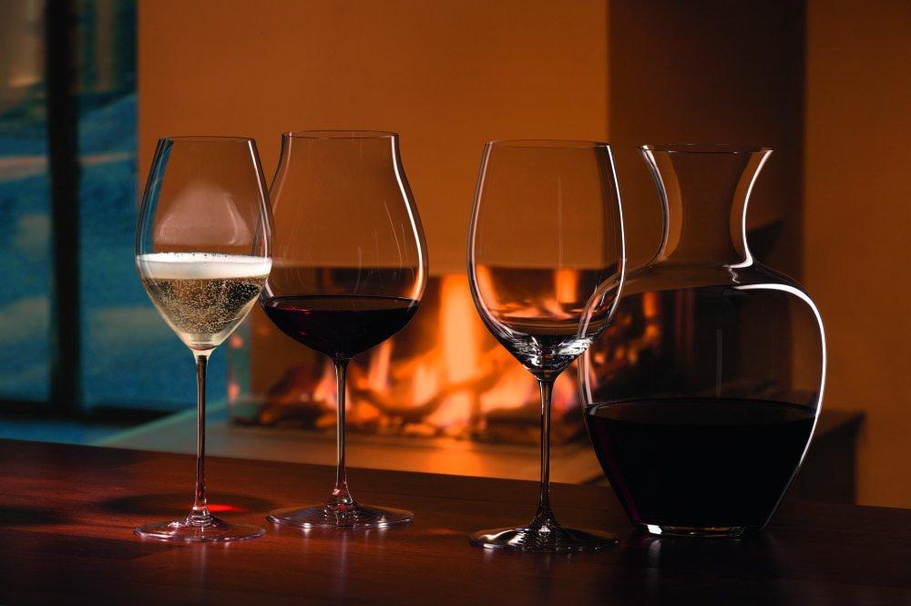 Riedel 6449/0 Veritas Cabernet/Merlot Wine Glasses, Set of 2, Clear by Riedel (Image #6)