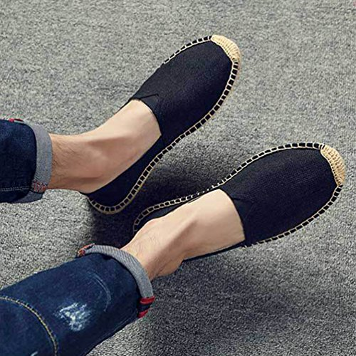Scarpe Scarpe Guida da On Classic Casual Nero Mocassini Eleganti da Loafers Penny Uomo Lvguang Slip Unisex 7C1qB7WR
