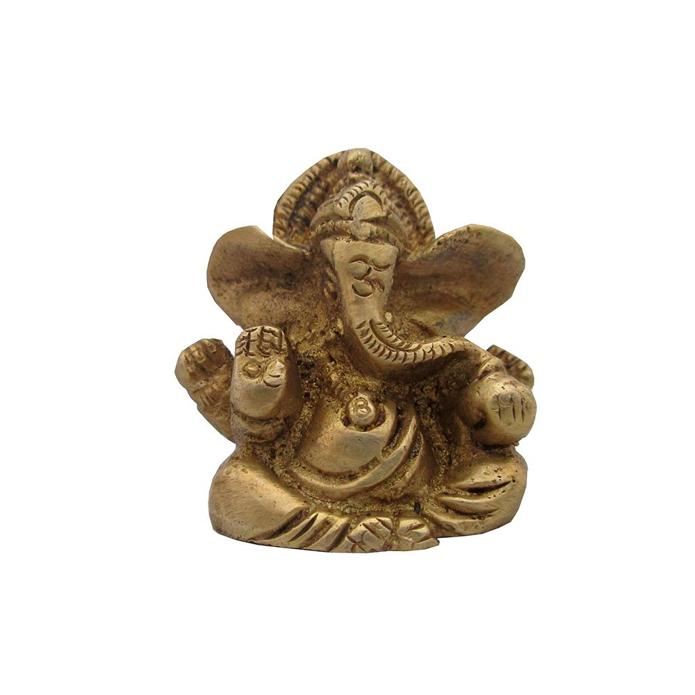 Universal Shoppe World Lord Ganesha Statue with Om Symbol
