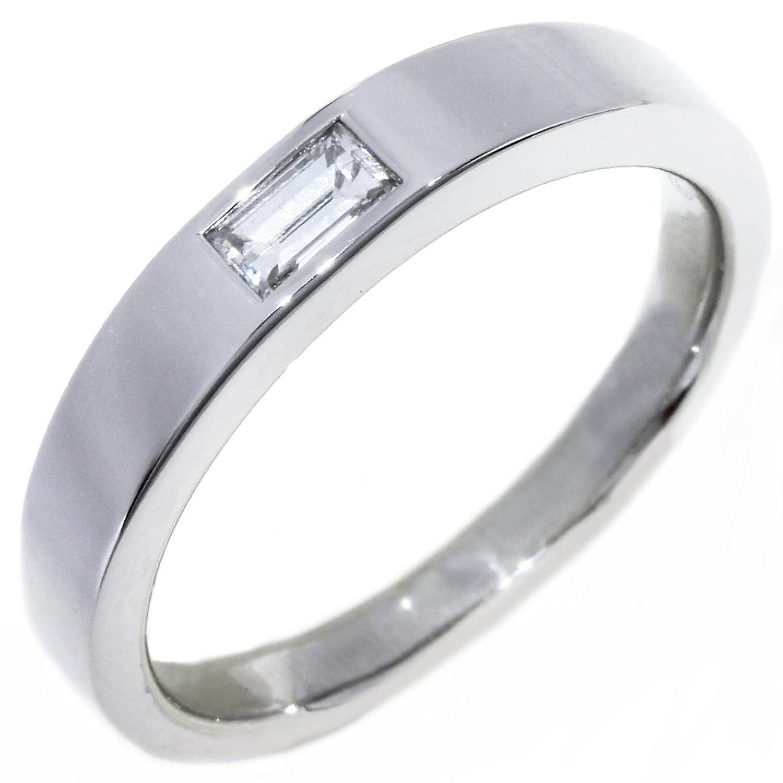 [ハリーウィンストン]Harry Winston Pt950 ダイヤ1P(0.21ct) ワンバケットダイヤモンドリング 指輪 16号 中古 B07BKRZJ1V