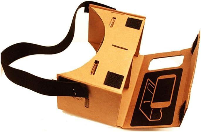 Amison Nuevo Google Cartón Valencia Calidad VR 3D gafas de ...