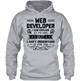 Big Grey Web Developer Job T Shirt, Mens T Shirt, Clothing