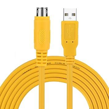 VBESTLIFE USB Driver Yellow For ACAB230 Programming PLC: Amazon co