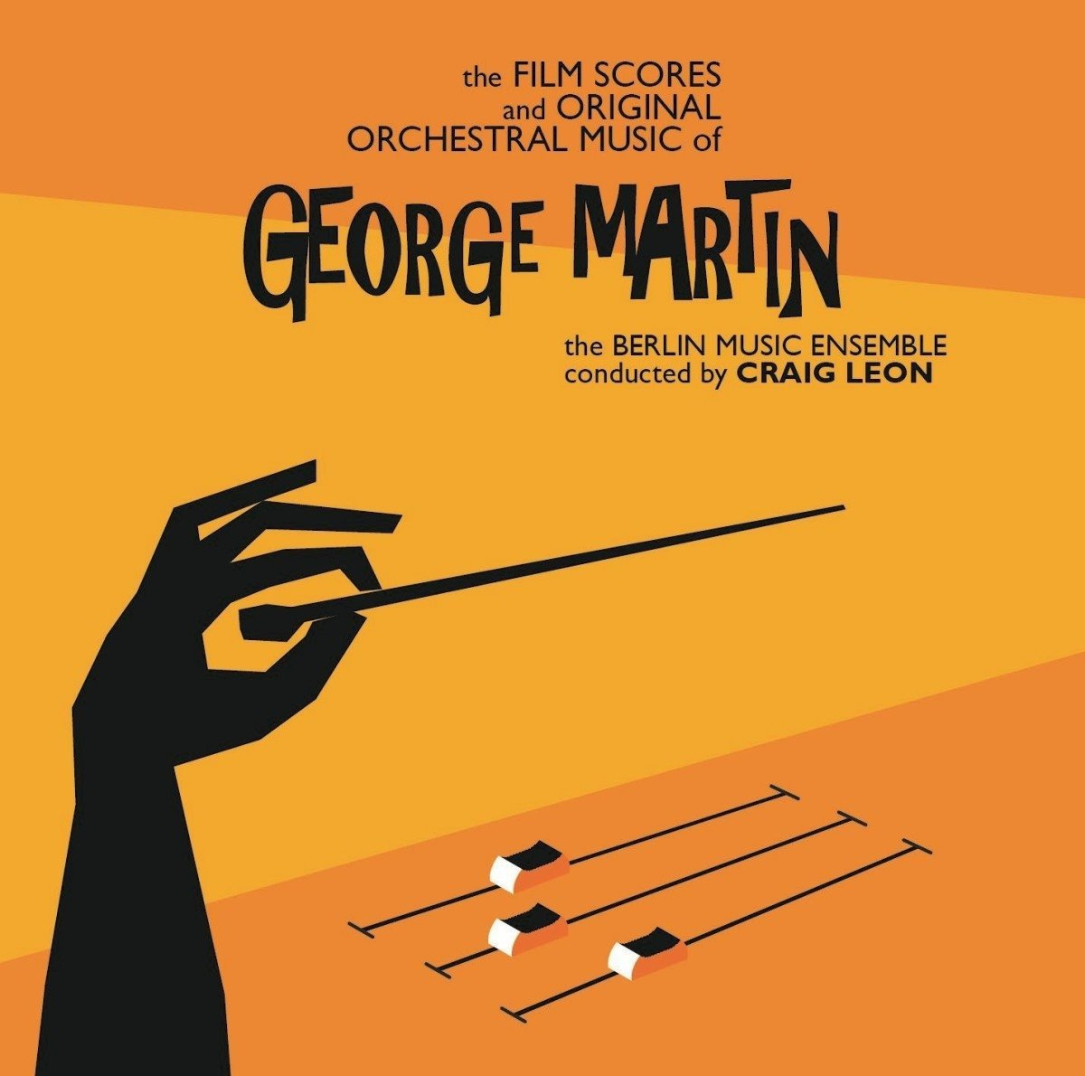 The Film Scores and Original Orchestral Music of George Martin by ATLAS REALISATIONS