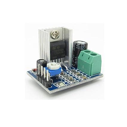 Amazon com: 6V-12V Single Power Supply TDA2030A TDA2030