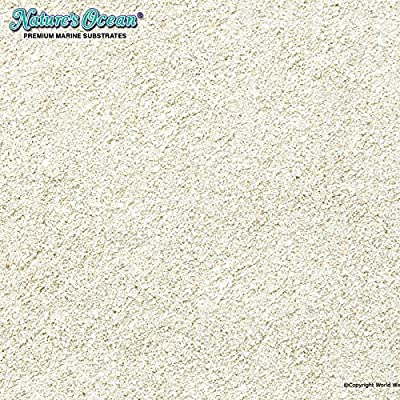 Nature's Ocean No.1 Aragonite Sand for Aquarium, 20-Pound by WORLD WIDE IMPORTS ENT., INC.
