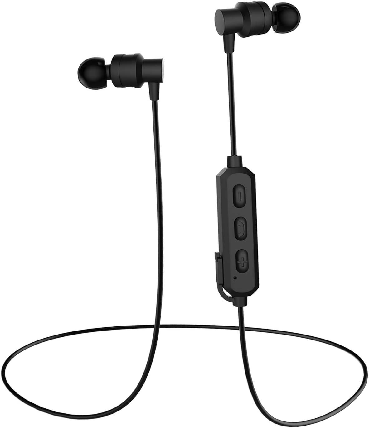 Wireless Bluetooth Earphones Bluetooth 5.0 IPX 6 Sweat-proof Waterproof Aptx Stereo CVC 6.0 Noise Reduction High-fidelity Microphone In-ear Headphones, Sports Running Fitness Earbuds