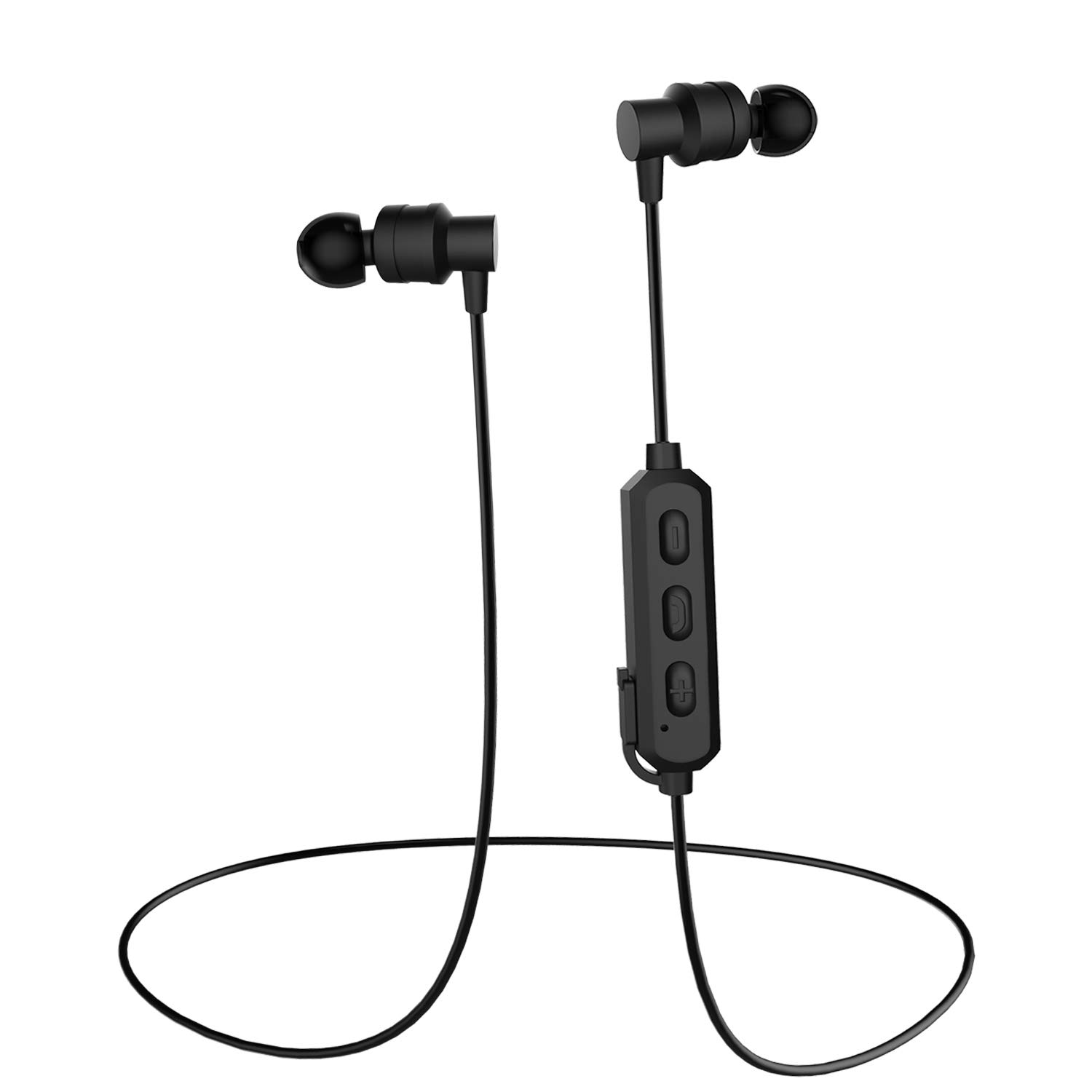 True Wireless Earbuds, RXAMYDE Wireless Earphones Stereo Bluetooth 5.0 Headphone IPX7 Waterproof Deep Bass Headset with Built-in MIC and Charging Case 24-Hour Playtime for Sports Business Gaming