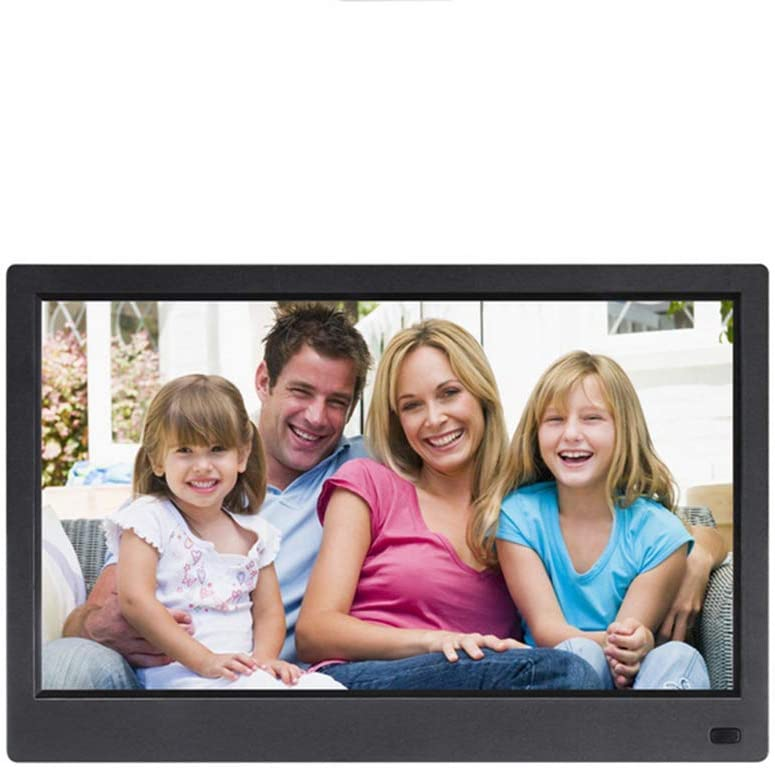 MUYEY HD Digital Photo Frame10.1 Inch,11.6 Inch,12.5 Inch,15.6 Inch,17.3 Inch IPS Screen,Photos Auto Rotate HDMI Input,Support USB and SD Card,White,10 inch 178 /° Full-View IPS Screen