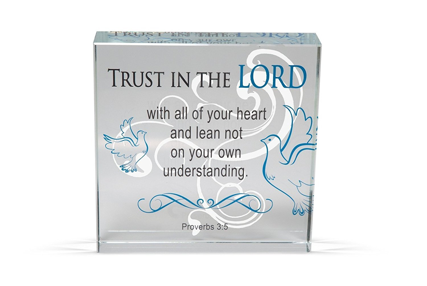 6-Inch AngelStar 11235 Trust Clearly Inspired Plaque