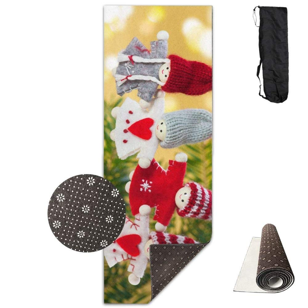 Christmas Toys Branch Angels ECO Aqua Power Kinematic Iyengar Kundini Hot Pilates Gymnastics Hatha Yoga Mat and Other Mats That Need to Be Performed On The Ground