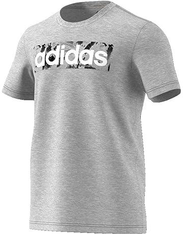 93f4bac54a827 adidas Essentials Linear AOP Box T- T-Shirt Homme