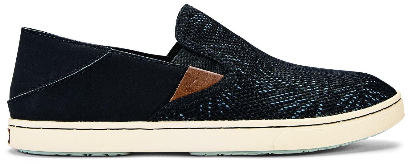 OLUKAI Pehuea Shoes - Women's B079436FJ6 5 B(M) US|Black/Palm