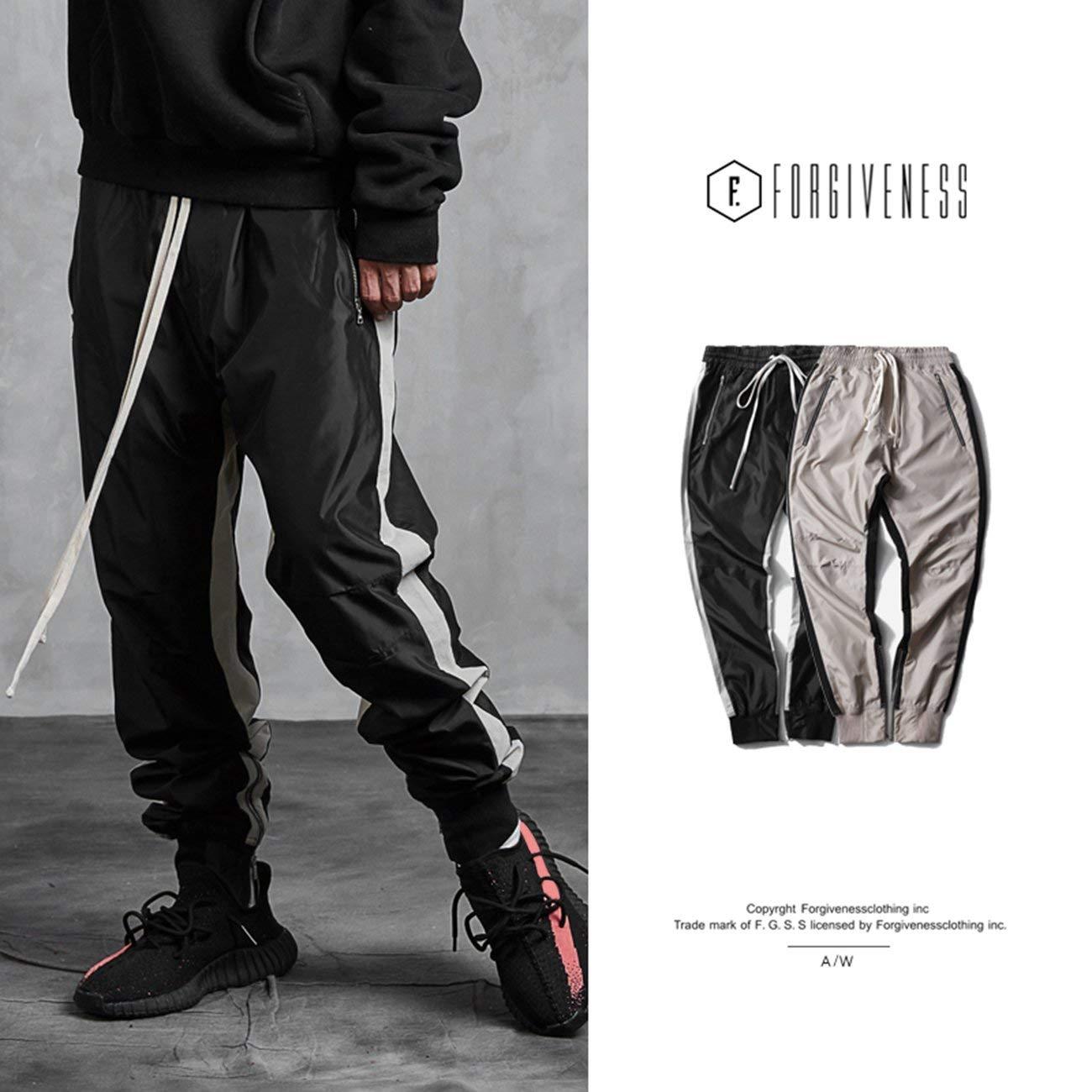 Forgiveness Fashion Men Long Pants Pants Pants 767 Zipper